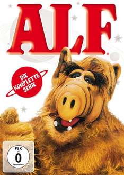Alf - Die komplette Serie [16 DVDs] für 24,95€+Versand=27,95 € @ Amazon Achtung zzgl. Versandkosten für nicht Prime Kunden