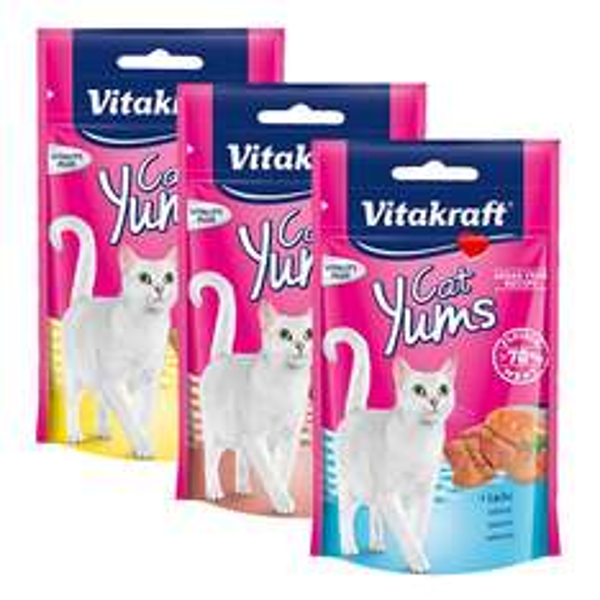 [MARKTKAUF NORD] 3 Packungen Vitakraft - Cat Yums versch. Sorten 40g mit 0,03€ Gewinn (Angebot+Scondoo) bis 17.01.2015