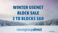 [Newsgroupdirect] 2,2TB Block Account (Usenet) für 60$ statt 200$