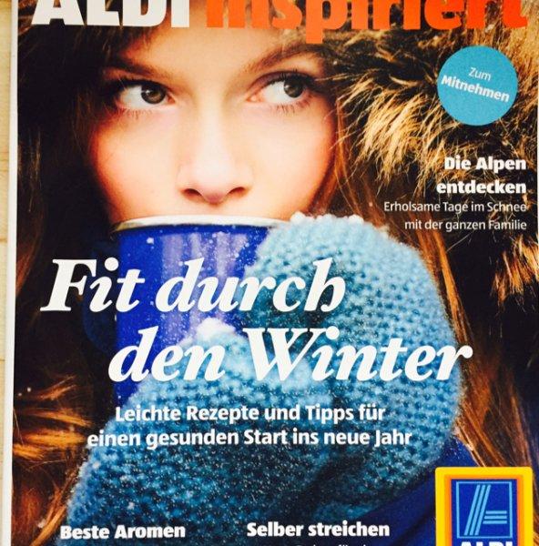 Aldi Süd inspiriert Magazin *bundesweit