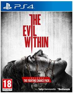 The Evil Within (PS4 & Xbox One) für je 33,60€ @Amazon.fr