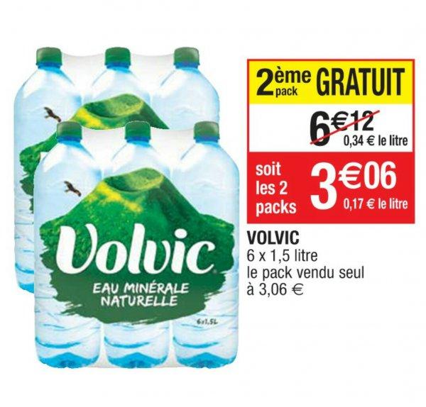 [Grenzgänger Frankreich] Volvic Naturelle 12 x 1,5l für 3,06€