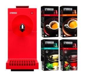 Cremesso Uno Kapselmaschine inkl. 4 Packungen Kapseln für 19€ @Media Markt