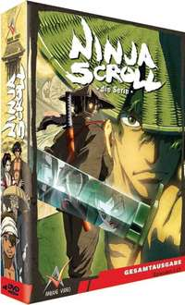 Ninja Scroll Gesamtausgabe Episoden 1-13 (Prime)