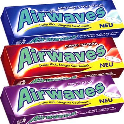 [Netto Marken-Discount] Wrigley's Airwaves verschiedene Sorten, 3+1 für 1,49 € (lokal?)