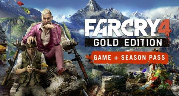 Far Cry 4 Gold Edition - Hauptspiel + Season Pass [UPLAY KEY]