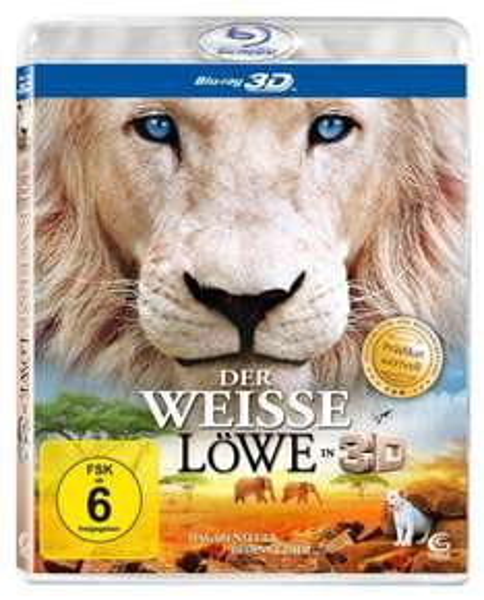 [Prime] Der weiße Löwe (Prädikat: Wertvoll) [3D Blu-ray] @ Amazon