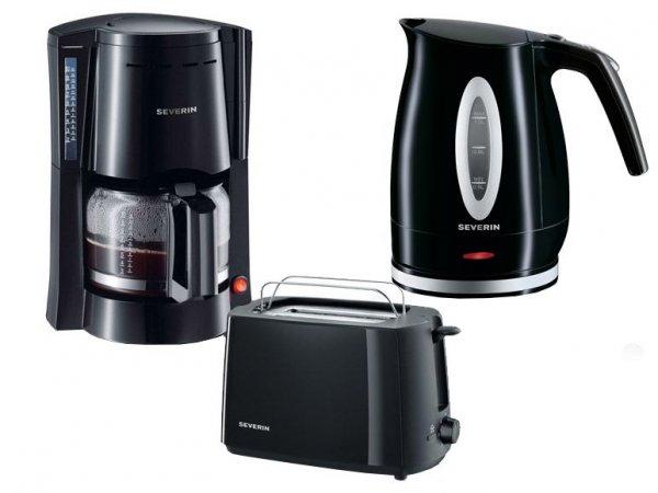 [LIDL ONLINE] SEVERIN Frühstücks-Set Kaffeemaschine, Toaster und Wasserkocher im Set für 50€