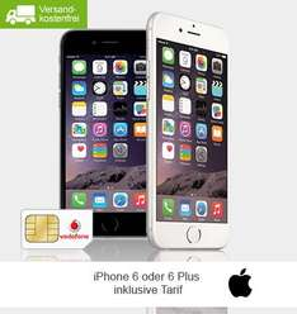 Smart L mit Iphone 6 Plus 16GB bei Limango