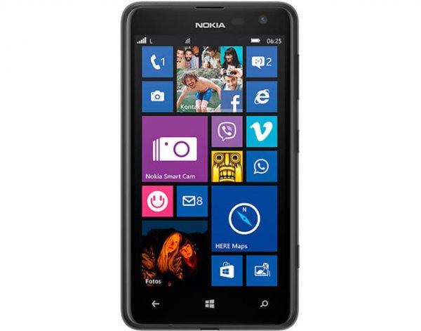 """Nokia Lumia 625, Smartphone, Schwarz, 4G LTE, 8 GB, 4.7"""" (11,9 cm), LCD-IPS-Display, GSM, Windows Phone 8, 5 Megapixel Kamera für 119€ @MeinPaket"""