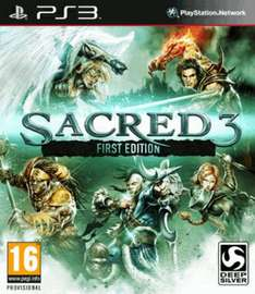 Sacred 3: First Edition (PS3 & Xbox360) für je 9,95€ @Coolshop