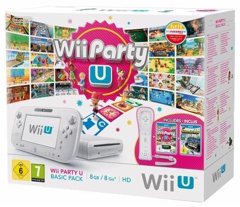 Wii U Party U Basic Pack für 224 Euro