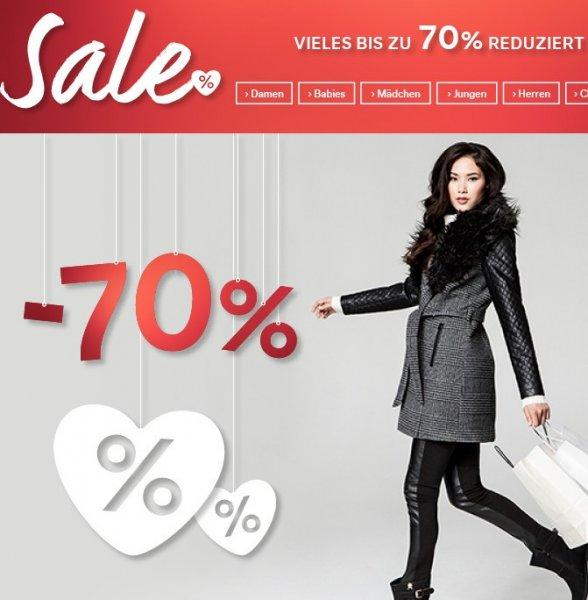 Sale bei C&A mit bis zu 70% auf viele Einzelteile