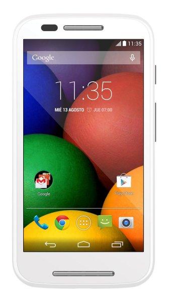 Motorola Moto E Smartphone schwarz u. weiß inkl. Vsk für 83,63 € > [amazon.es]