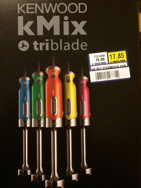 [lokal SU] Kenwood kMix 852 Triblade Abverkauf bei Metro St. Augustin