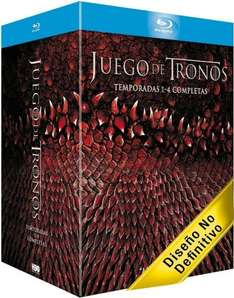Game of Thrones Staffel 1-4 Blu-Ray 70,20€ @Amazon.es
