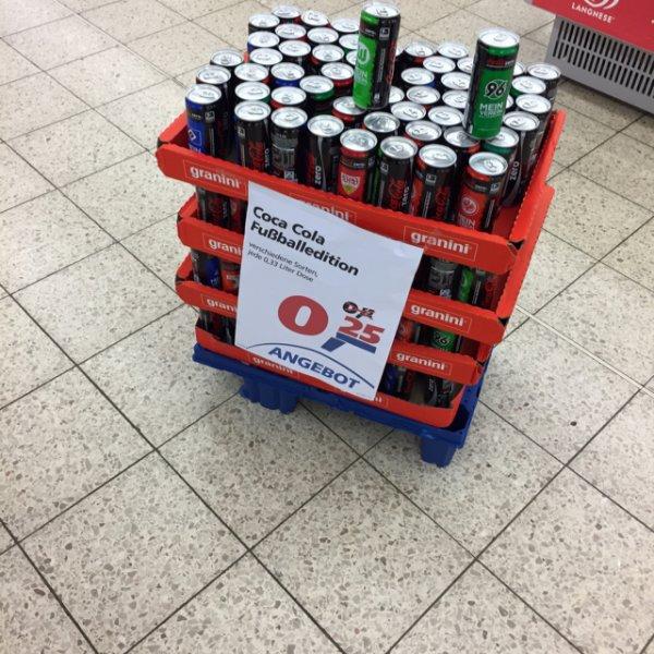Coca Cola Zero Fußball Edition