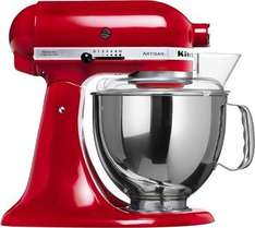 KitchenAid Artisan Küchenmaschine Empire Rot 5KSM150PS EER für 399,25€ @Amazon.it