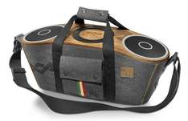 House of Marley EM-JA003-MI-EU Bag of Rhiddim BT Midnight tragbares Audio System mit Dockingstation (Apple iPod/iPhone) für 182,56€ @Amazon.it