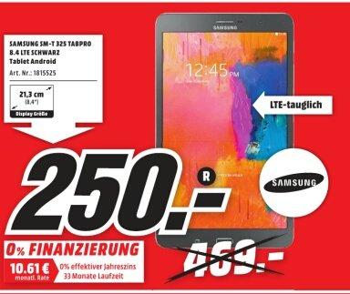 [Lokal MM Porta Westfalica] Samsung SM-T325 LTE 250,-