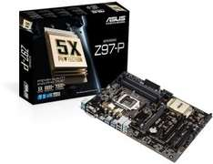 ASUS Z97-P Z97 Sockel 1150 ATX DDR3 Motherboard für 74,90€ VSK Frei@ZackZack