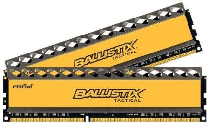 Crucial Balistix Tactical 16 GB DDR3-SDRAM ( 2x 8GB für 129,46€ inkl. Versand @amazon.es)