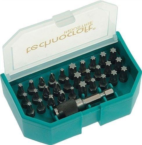 Ebay: Faubel S2-Stahl Bit Set 31 teilig - 70% unter idealo.