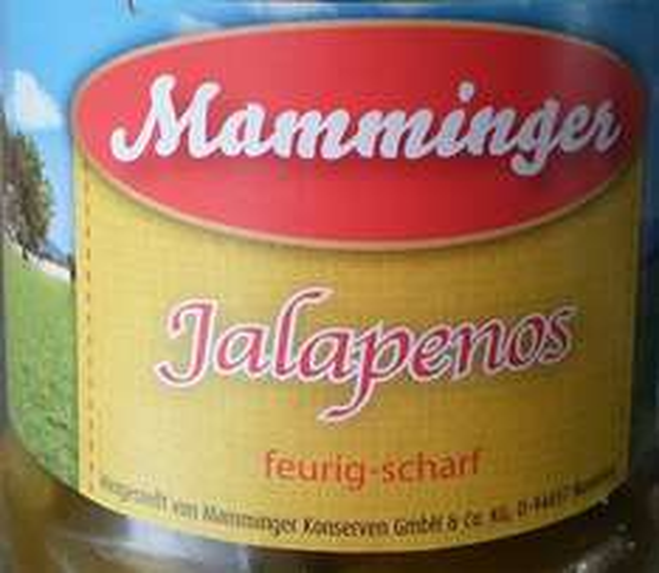 [Thomas Philipps/Offline/Bundesweit?] Jalapenos - grün - geschnitten 370ml Glas EUR 0,59