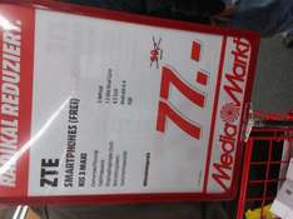 [MM Sindelfingen] ZTE Kis 3 max (idealo: 89€)