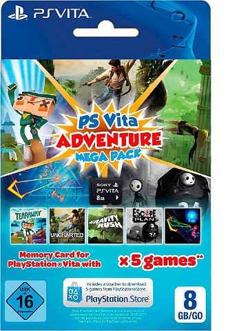 PS VITA Mega Adventure Pack mit otto.de Neukundengutschein