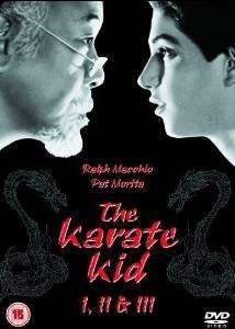 KARATE KID I-III DVD @Amazon UK MP