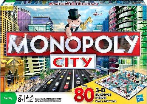 [Toys'r'us] Hasbro Monopoly City für 27,94 - 50% Ersparnis