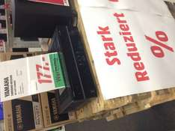 -Lokal Dietzenbach Media-Markt- Yamaha Receiver RX-V 377 für 177€