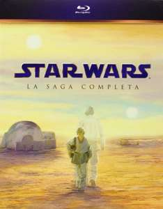 Star Wars: The Complete Saga I-VI [Blu-ray] inkl.Vsk für 57,78 € > [amazon.es]