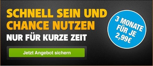 [Wieder da ]WATCHEVER -Deal: 3 Monate für je 2,99€/mtl.  mtl. kündbar