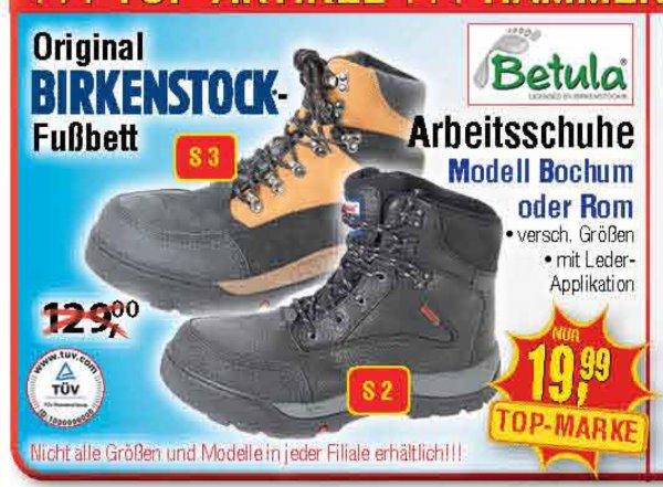 [Centershop] Betula Birkenstock Arbeitsschuhe Rom / Bochum 19,99€