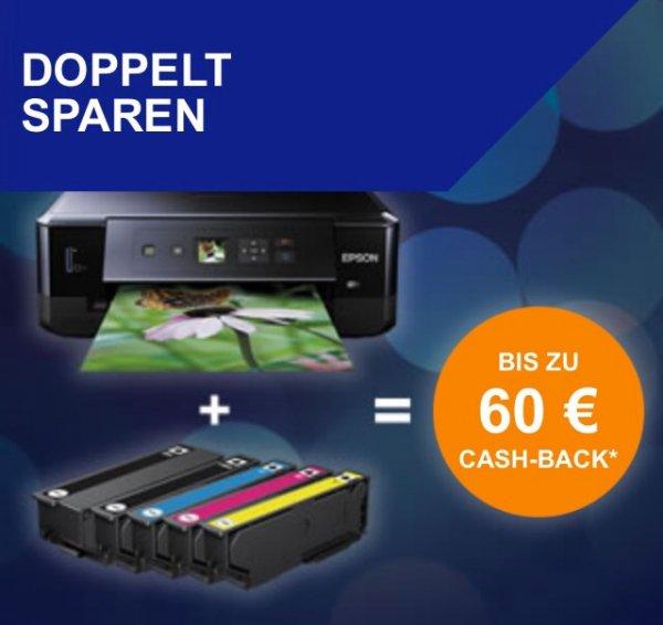 Epson - bis zu 60€ Cashback