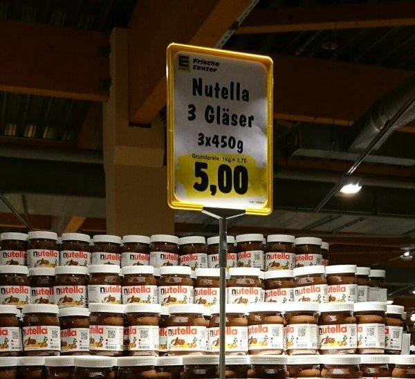 [Edeka Hardtberg] Nutella
