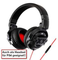 Amazon.fr - JVC HA-MR77X-E XX (Headset PS4) Over-Ear-Kopfhörer DJ-Monitoring mit Mikrofon und Fernbedienung 30,64 €