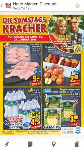 15 Liter Sprite für 4,99€ Netto ohne hund Bundesweit nur am samstag 24.1