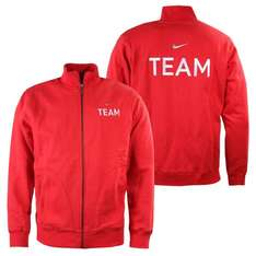 Nike Team Fleece Herren TrackTop Trainingsjacke rot Sweatjacke @Amazon mp