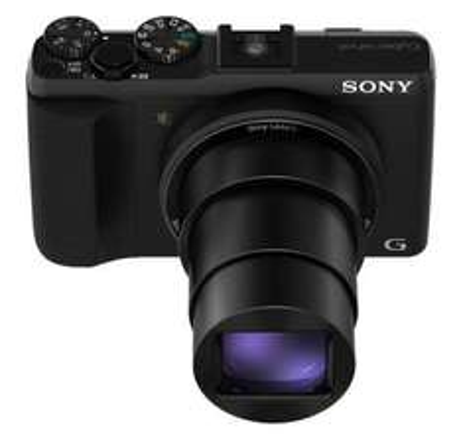 Sony DSC-HX50VB Schwarz (Ultrazoomkamera mit GPS) 212,99€ inkl. Versand@redcoon