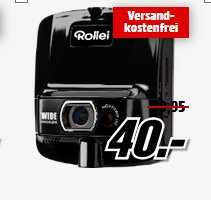 Media Markt Online - Dashcam Rollei Car-Cam 70 (15€) und Rollei Car-Cam DVR 100