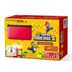 [EBAY WOW] Nintendo 3DS XL rot + New Super Mario Bros. 2