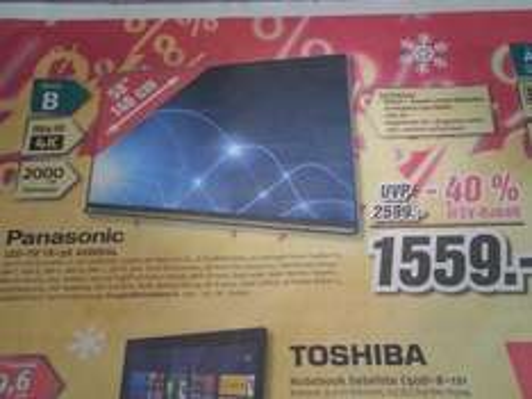 Panasonic TX-58 AXW804 LED 4K TV / Lokal Medimax Meppen, Sögel, Fürstenau