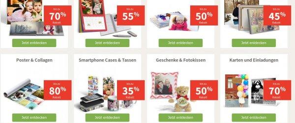 Photobox VIP Sale (Fotobücher bis 70% günstiger + andere Produkte)