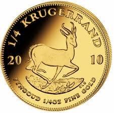 1oz Krugerrand South African 2010