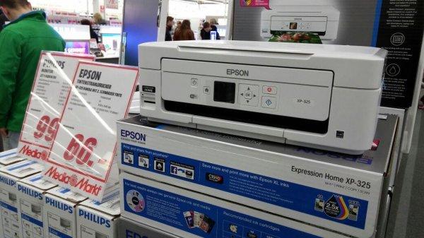 epson xp-325 66€ @ media Markt Paderborn
