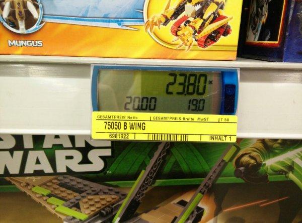 [lokal] Metro Lego Star Wars B-Wing 23,90€ und AT-AP 35,70€ (-20% auch möglich)
