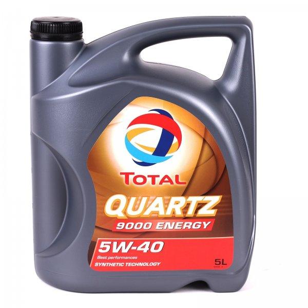Motoröl Total Quarz 9000 Energy 5L Kanister, 5W40, 21,90 EUR @ ebay